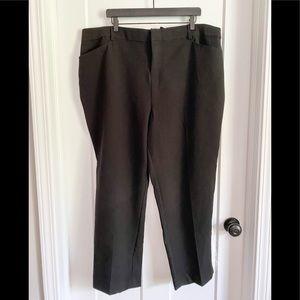 NWT Torrid Sequin/Black Glam Dress Pants Size 22